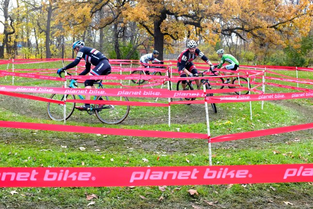 Round n' Round they go. Estabrook Park cyclocross by Jeffrey Phelps